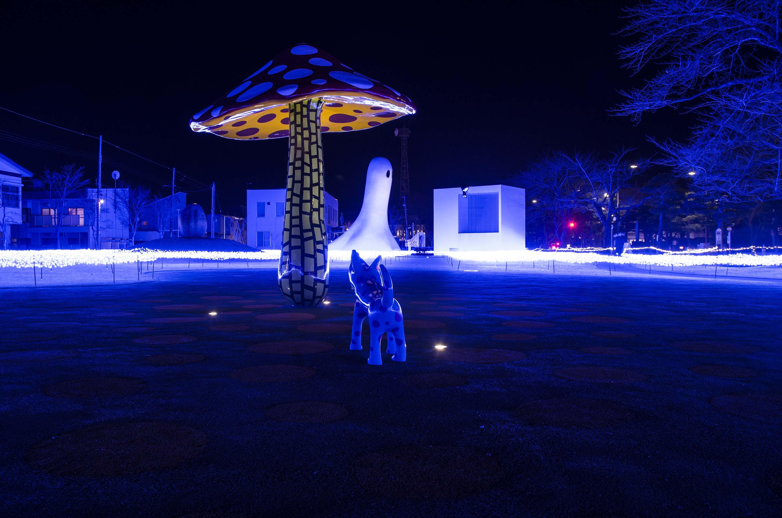 """アーツ・トワダ ウィンターイルミネーション2018【Arts Towada Winter Illumination2018】 """"アートと光のコラボレーション"""""""